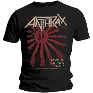 ANTHRAX Live in Japan, Tシャツ