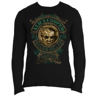 ALICE COOPER Billion Dollar Babies Crest, ロングTシャツ