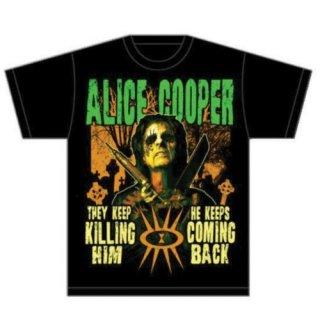 ALICE COOPER Graveyard, Tシャツ
