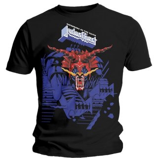 JUDAS PRIEST Defenders Blue, Tシャツ