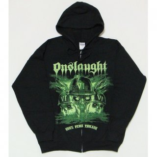 ONSLAUGHT Chaos, Zip-Upパーカー