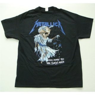 METALLICA Doris Black, Tシャツ<img class='new_mark_img2' src='//img.shop-pro.jp/img/new/icons20.gif' style='border:none;display:inline;margin:0px;padding:0px;width:auto;' />