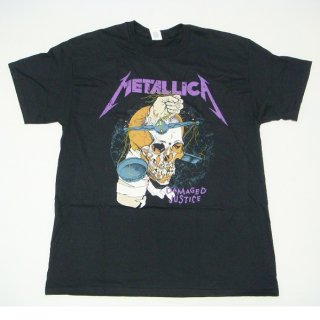 METALLICA Damage Hammer Black, Tシャツ