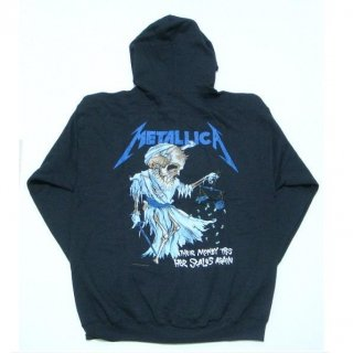 METALLICA Doris Black, Zip-Upパーカー
