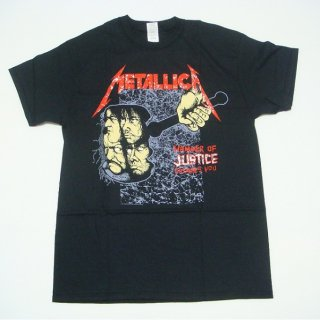 METALLICA Hammer Of Justice Black, Tシャツ