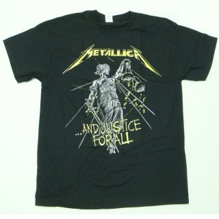 METALLICA And Justice For All Tracks, Tシャツ<img class='new_mark_img2' src='//img.shop-pro.jp/img/new/icons20.gif' style='border:none;display:inline;margin:0px;padding:0px;width:auto;' />