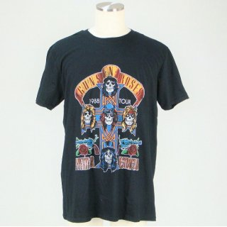 GUNS N' ROSES Nj Summer Jam 1988 With Back Printing, Tシャツ
