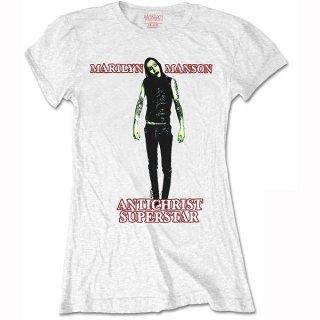 MARILYN MANSON Antichrist, レディースTシャツ
