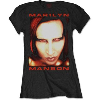 MARILYN MANSON Bigger Than Satan, レディースTシャツ