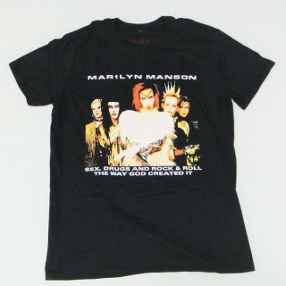 MARILYN MANSON Rock Is Dead 1999 Tour With Back Printing, Tシャツ