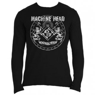 MACHINE HEAD Classic Crest, ロングTシャツ