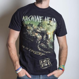 MACHINE HEAD Scratch Diamond Cover With Back Printing, Tシャツ
