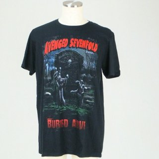 AVENGED SEVENFOLD Buried Alive Tour 2012 With Back Printing, Tシャツ