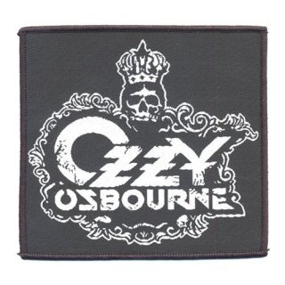 OZZY OSBOURNE Crest Logo, パッチ