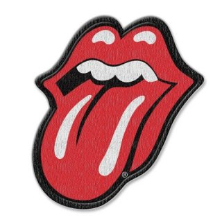 THE ROLLING STONES Classic Tongue With Iron On Finish, パッチ