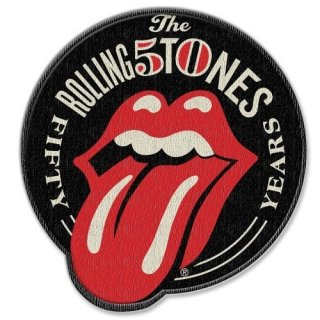 THE ROLLING STONES 50th Anniversary With Iron On Finish, パッチ