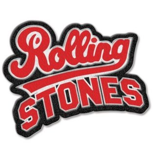 THE ROLLING STONES Team Logo With Iron On Finish, パッチ
