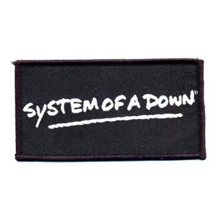 SYSTEM OF A DOWN Logo, パッチ