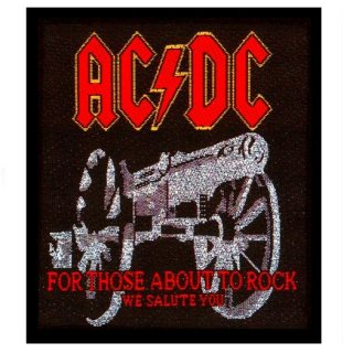 AC/DC For Those About To Rock, パッチ