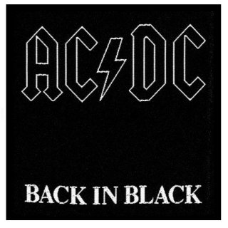 AC/DC Back In Black, パッチ