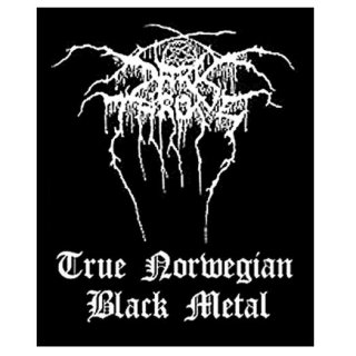 DARKTHRONE Black Metal, パッチ