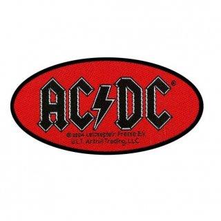 AC/DC Oval Logo, パッチ