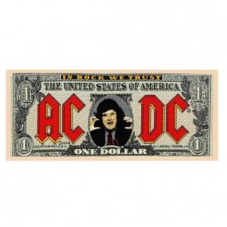 AC/DC Bank Note, パッチ