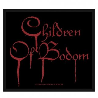 CHILDREN OF BODOM Blood Logo, パッチ