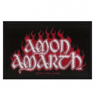 AMON AMARTH Red Flame, パッチ