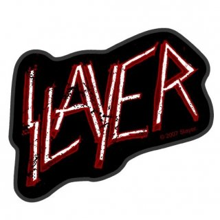 SLAYER Classic Logo Cut Out, パッチ