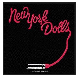 NEW YORK DOLLS Lipstick Logo, パッチ