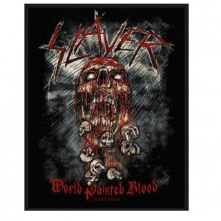 SLAYER World Painted Blood, パッチ