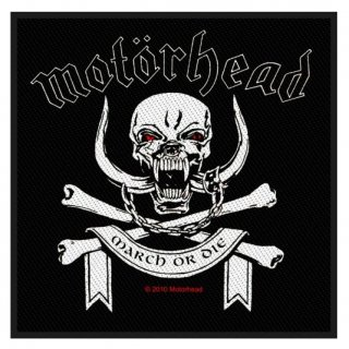 MOTORHEAD March Or Die, パッチ