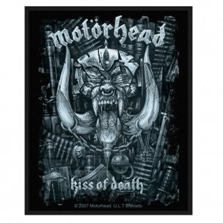 MOTORHEAD Kiss Of Death, パッチ