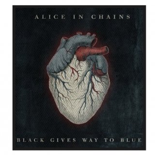 ALICE IN CHAINS Black Gives Way To Blue, パッチ