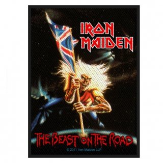 IRON MAIDEN Beast On The Road, パッチ
