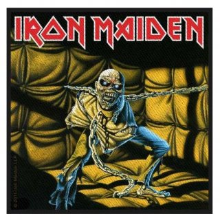 IRON MAIDEN Piece Of Mind, パッチ