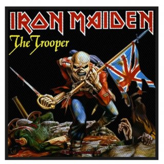 IRON MAIDEN The Trooper, パッチ