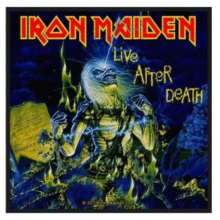 IRON MAIDEN Live After Death, パッチ