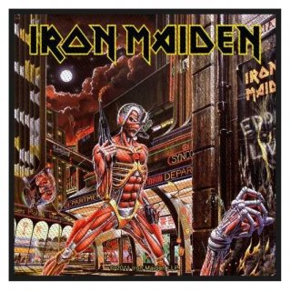 IRON MAIDEN Somewhere Back In Time, パッチ