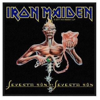 IRON MAIDEN Seventh Son, パッチ