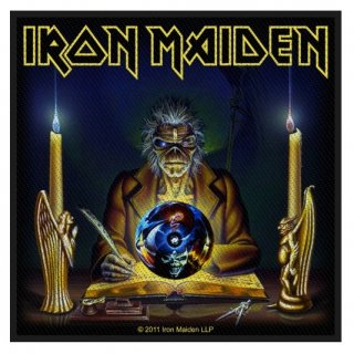 IRON MAIDEN The Clairvoyant, パッチ