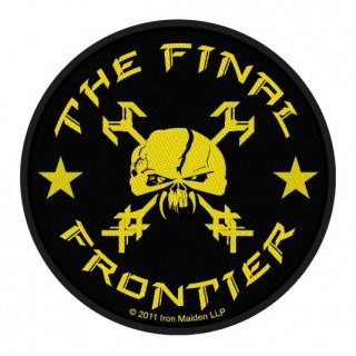 IRON MAIDEN The Final Frontier Skull Circular, パッチ