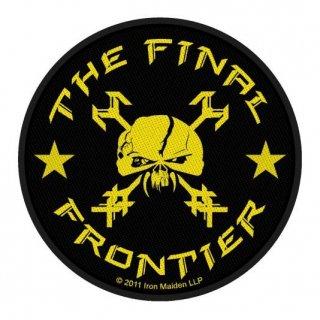 IRON MAIDEN The Final Frontier Skull Circular, パッチ