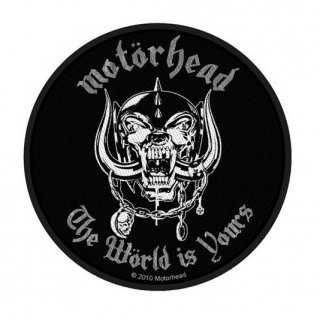 MOTORHEAD The World Is Yours, パッチ