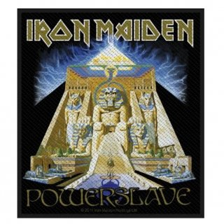 IRON MAIDEN Powerslave, パッチ