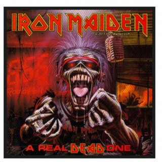IRON MAIDEN A Real Dead One, パッチ