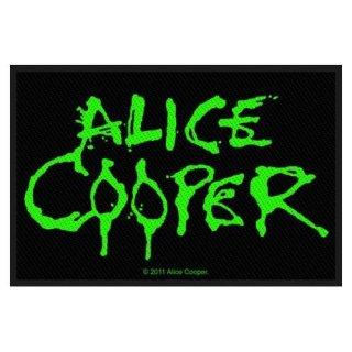 ALICE COOPER Logo, パッチ