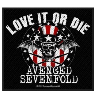 AVENGED SEVENFOLD Love It Or Die, パッチ