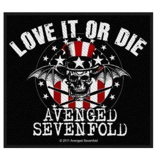 AVENGED SEVENFOLD Love It Or Die, パッチ